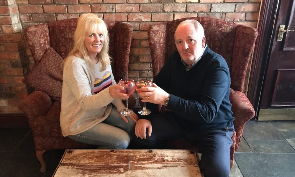 mr and mrs contest and gin tasting night in aid of