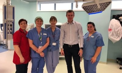 Justin McNulty at Daisy Hill Hospital