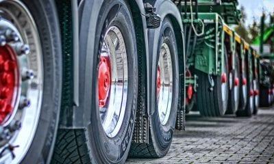 Lorry depot