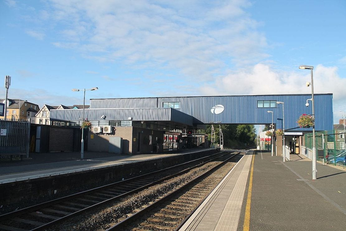 Lurgan Train Station