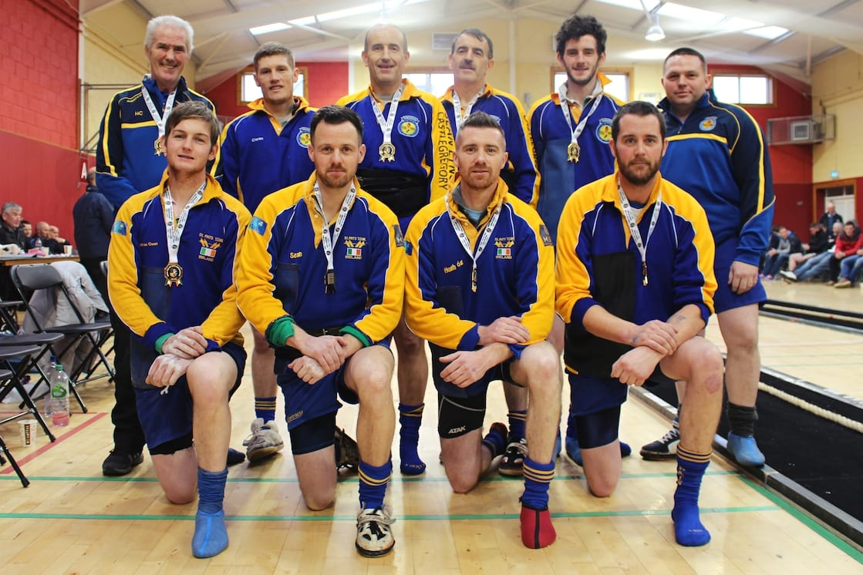 St Pat's Tug of War team