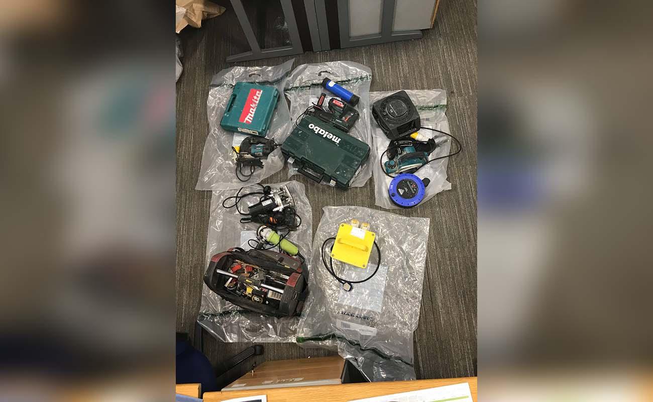 Stolen items Armagh