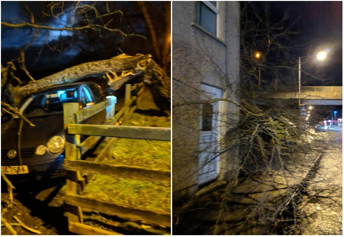 Storm Eleanor knocks out power to nearly 400 South Yorkshire homes