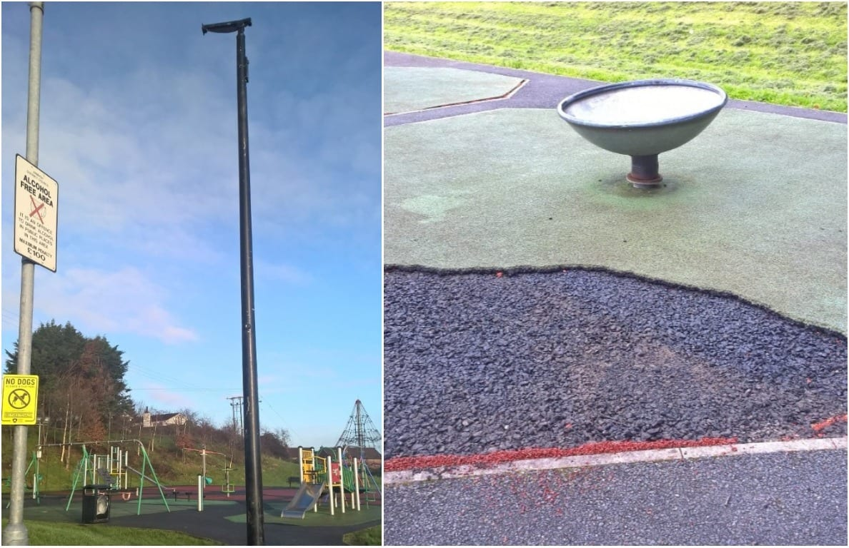 Tandragee Play Park CCTV