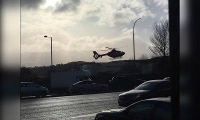 Air ambulance Newry