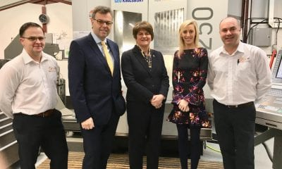 Boyce Engineering with Carla Lockhart and Arlene Foster
