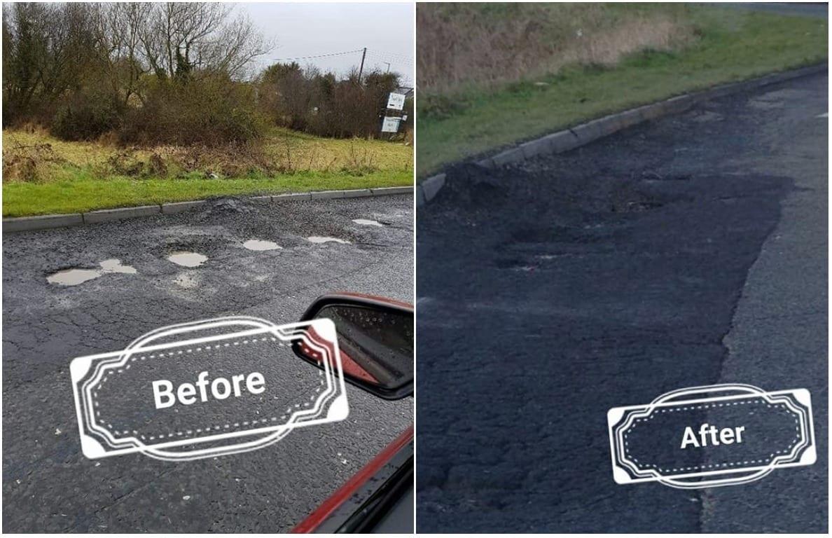 Potholes Lurgan