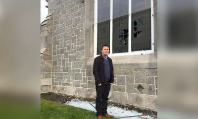UUP councillor David Taylor pictured at First Presbyterian Church Non Subscribing Newry.