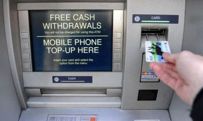 ATM cash point