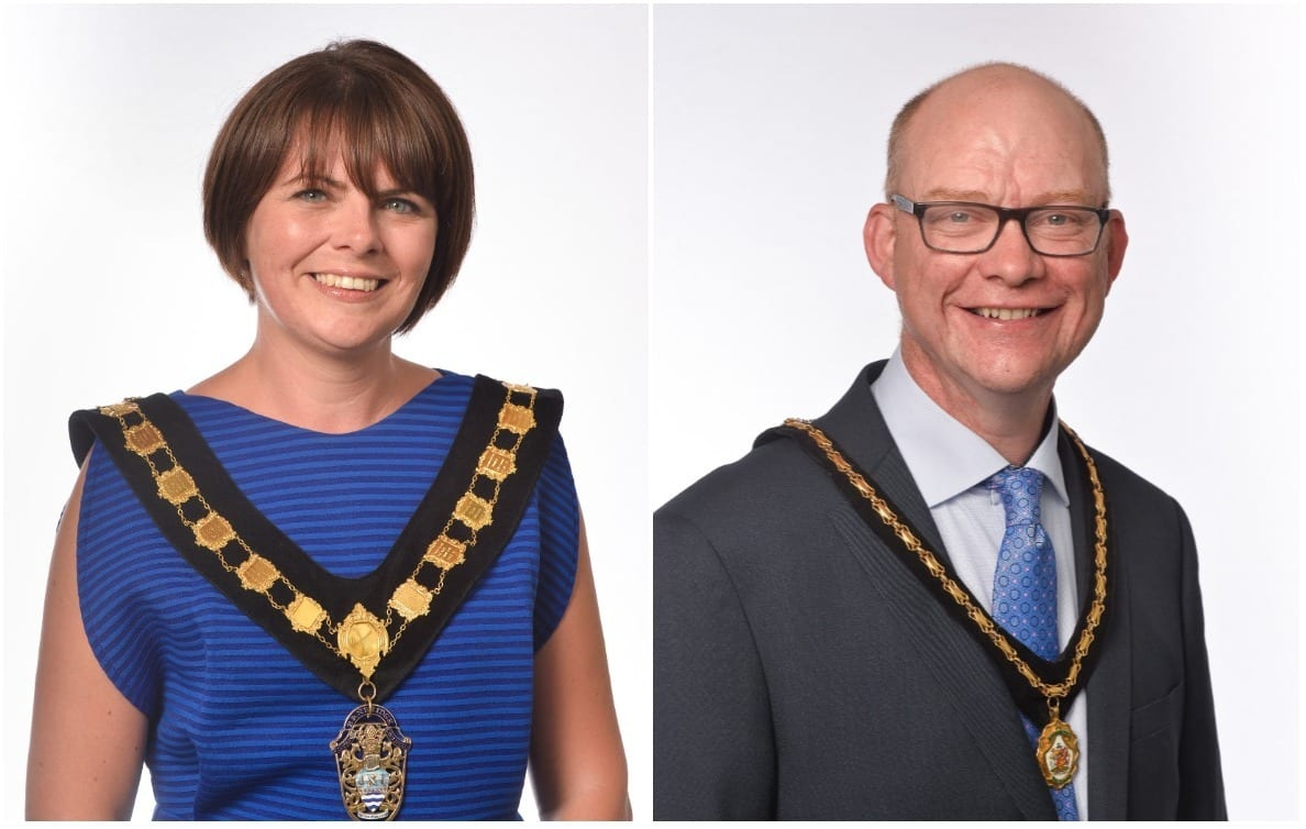 Julie Flaherty and Paul Duffy (1)