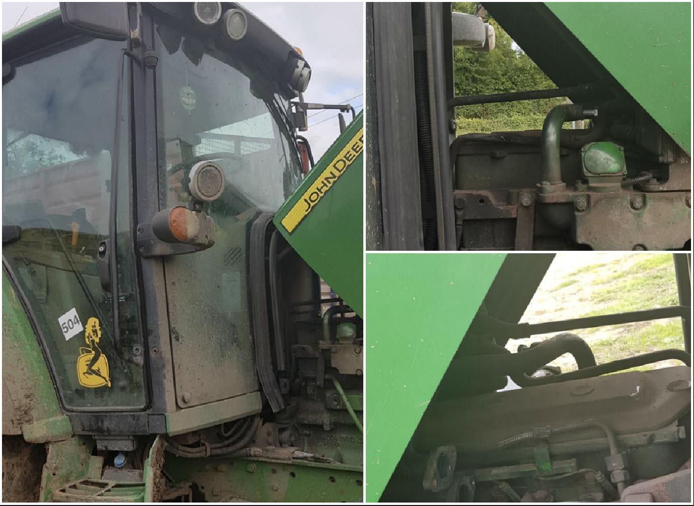 Stolen tractor parts Keady