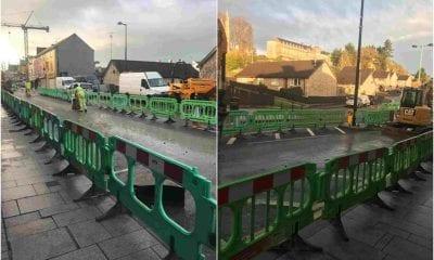 Armagh roadworks