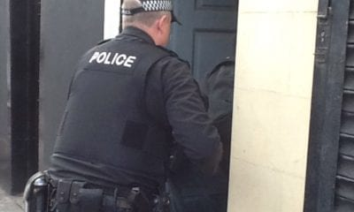 PSNI police search raid