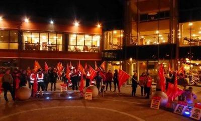 Protest Craigavon Civic Centre