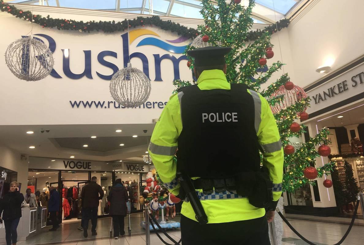 Police PSNI Rushmere