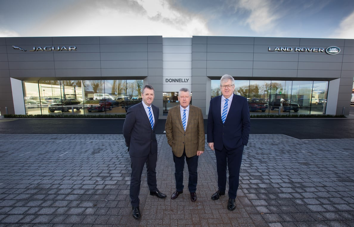 Dave Sheeran Managing Director, Terence Donnelly Executive Chairman, Raymond Donnelly Director at Donnelly Group.