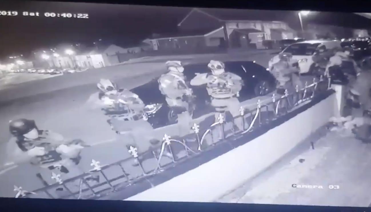 Armed police Bessbrook