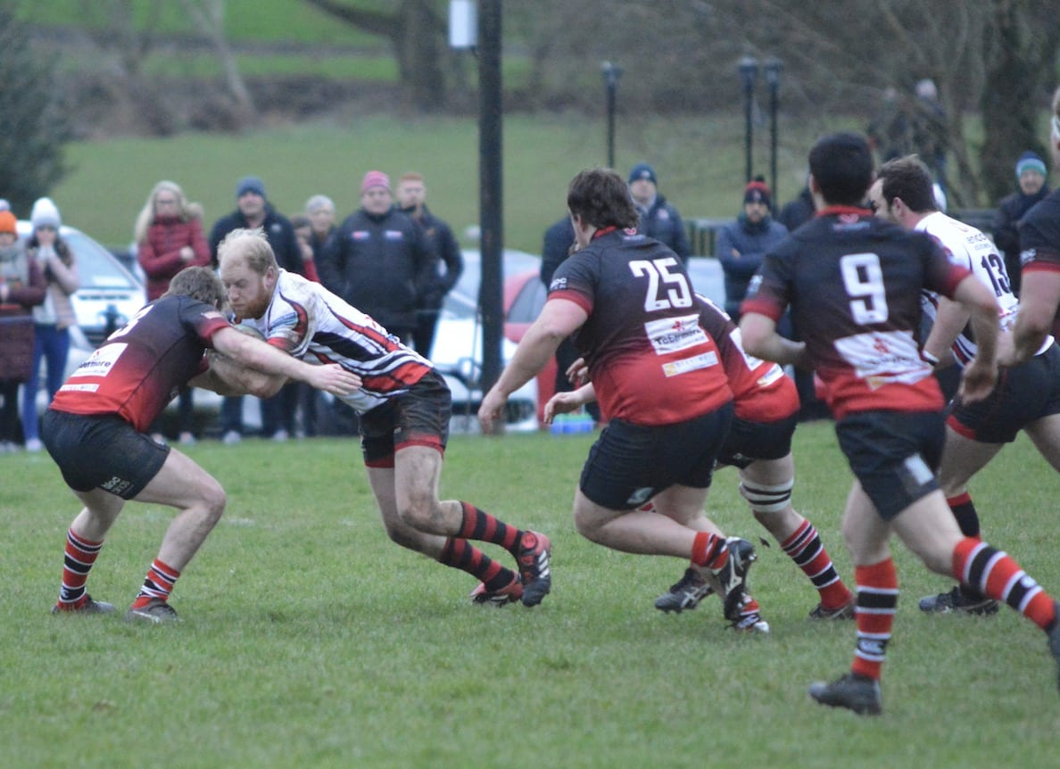 Neil Faloon scores City of Armagh try