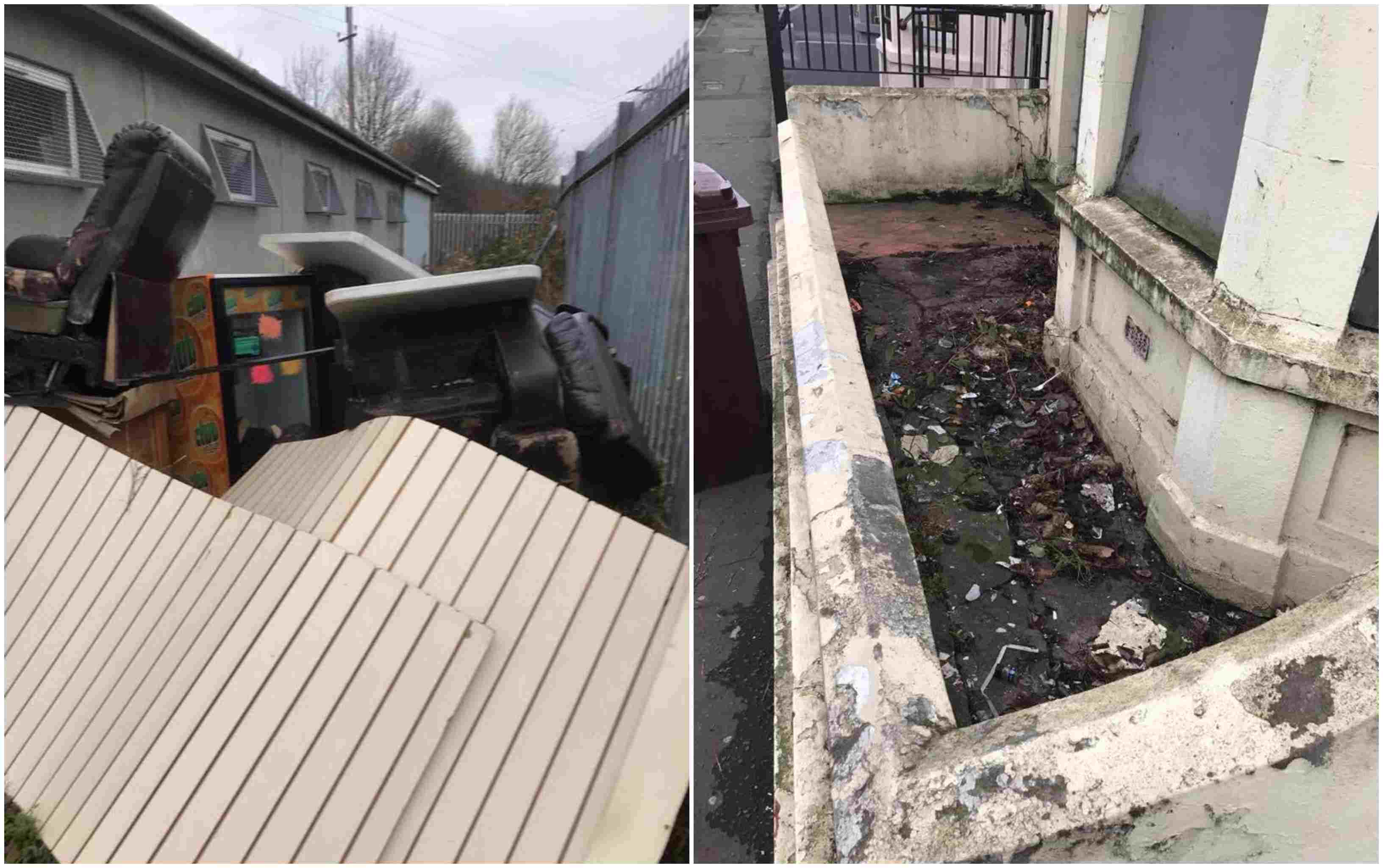 Newry city fly-tipping