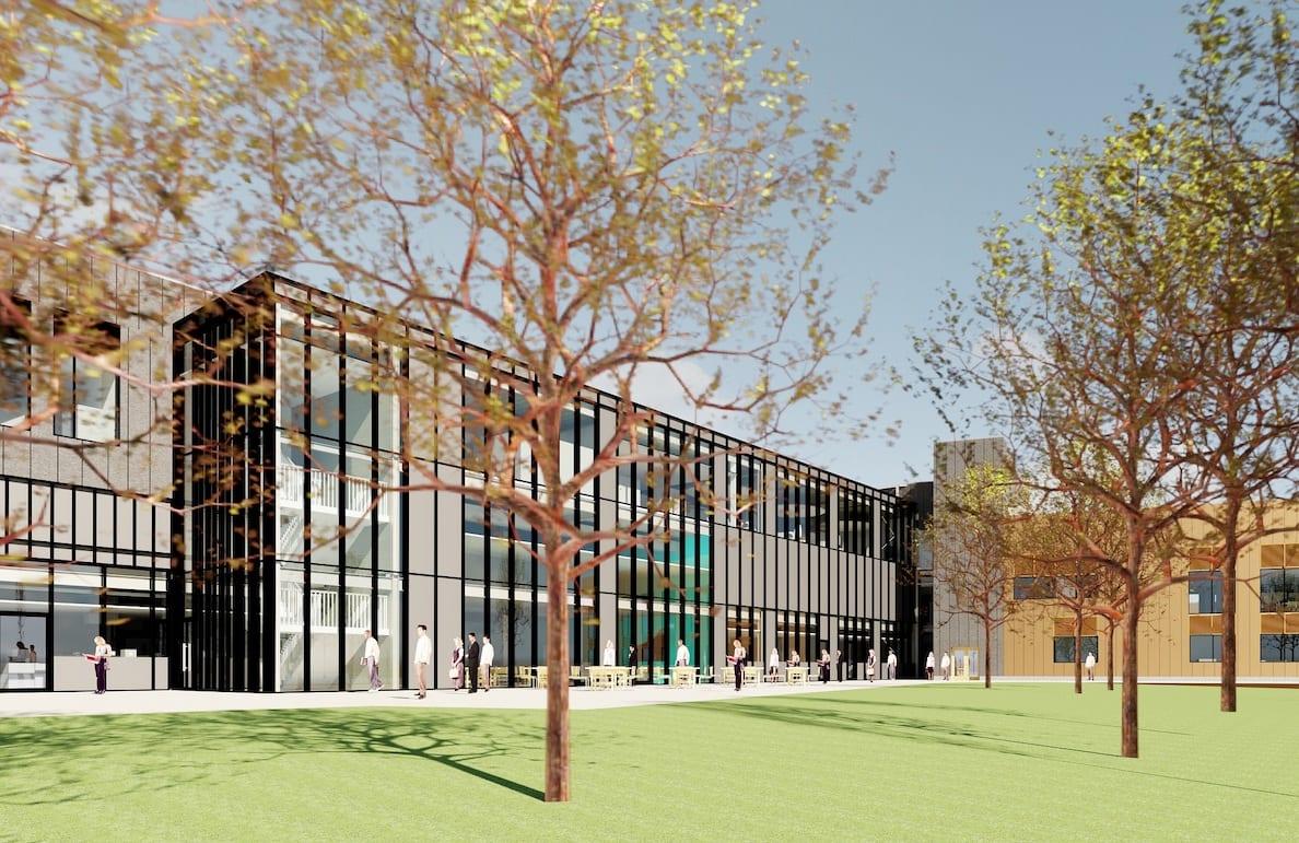 SRC Craigavon Campus - Rear View