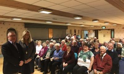 Hartford Friendship Club hosted Jo-Anne Dobson, Kidney Care UK Northern Ireland Ambassador