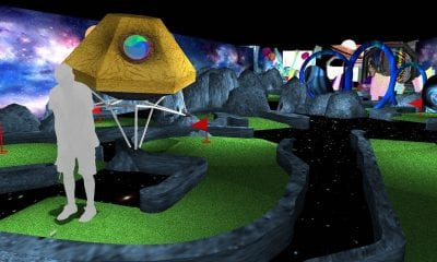 Captain Green's Space Adventure Golf