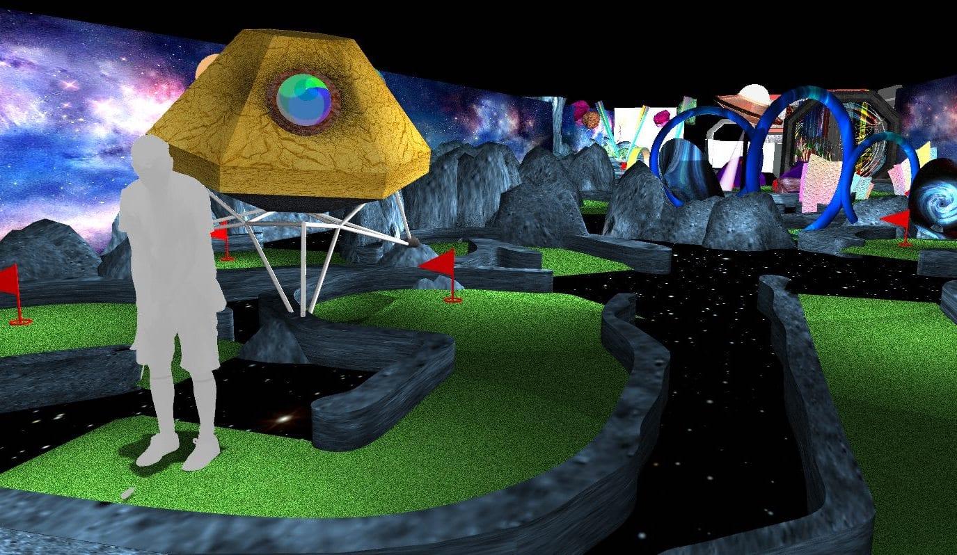 Captain Green's Space Adventure Golf