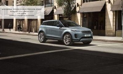 New Land Rover Evoque