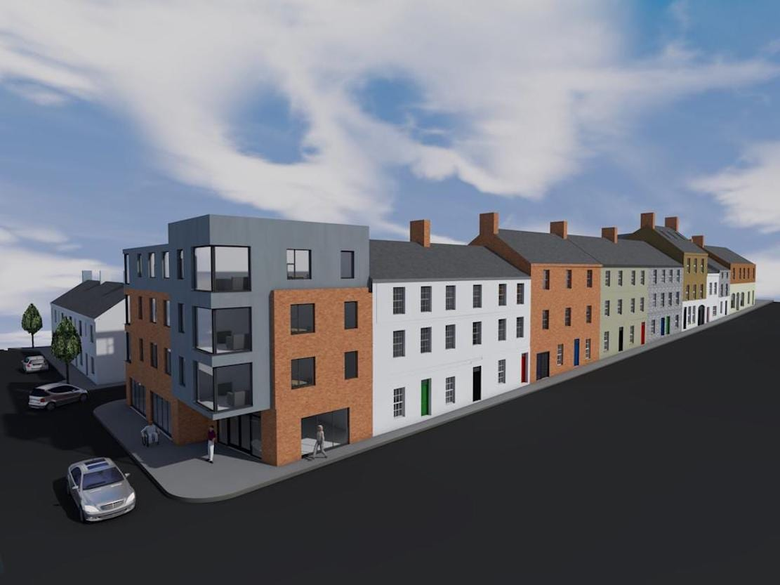 Ogle Street development Armagh 1