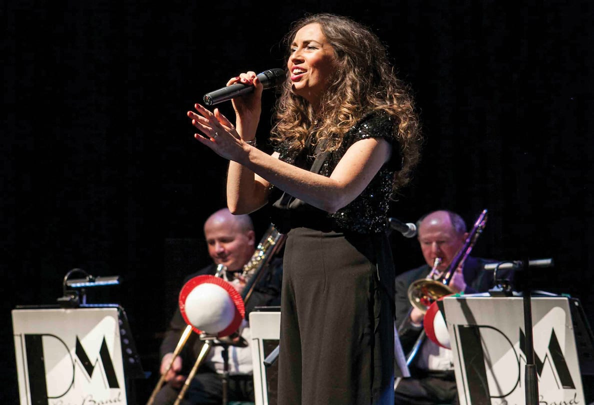 The PM big band at the Market Place Theatre in Armagh