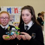 St Mary's Granemore Students The Lego Mindstorm project brings children and teachers from primary schools together for Lego Mindstorm Workshops and subsequently for Space Challenge Competitions and Exhibitions of Project work and Project Sharing ideas. Peace by PIECE Lego Mindstorm funded by Peace IV co-ordinated by CMETB Tommy Makem Centre Keady Co.Armagh 9 3 2019 CREDIT: LiamMcArdle.com