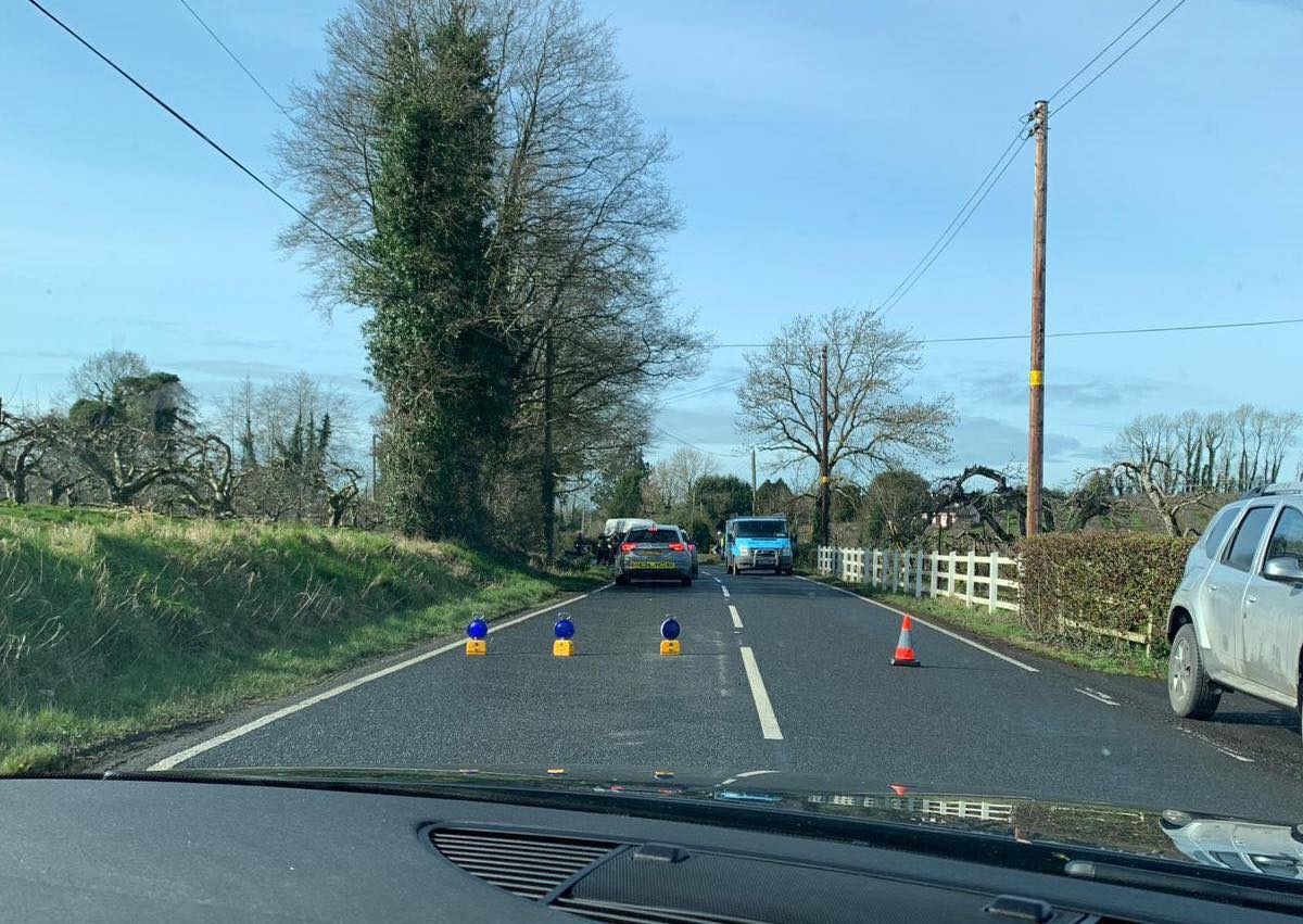 Ardress Road, Loughgall crash
