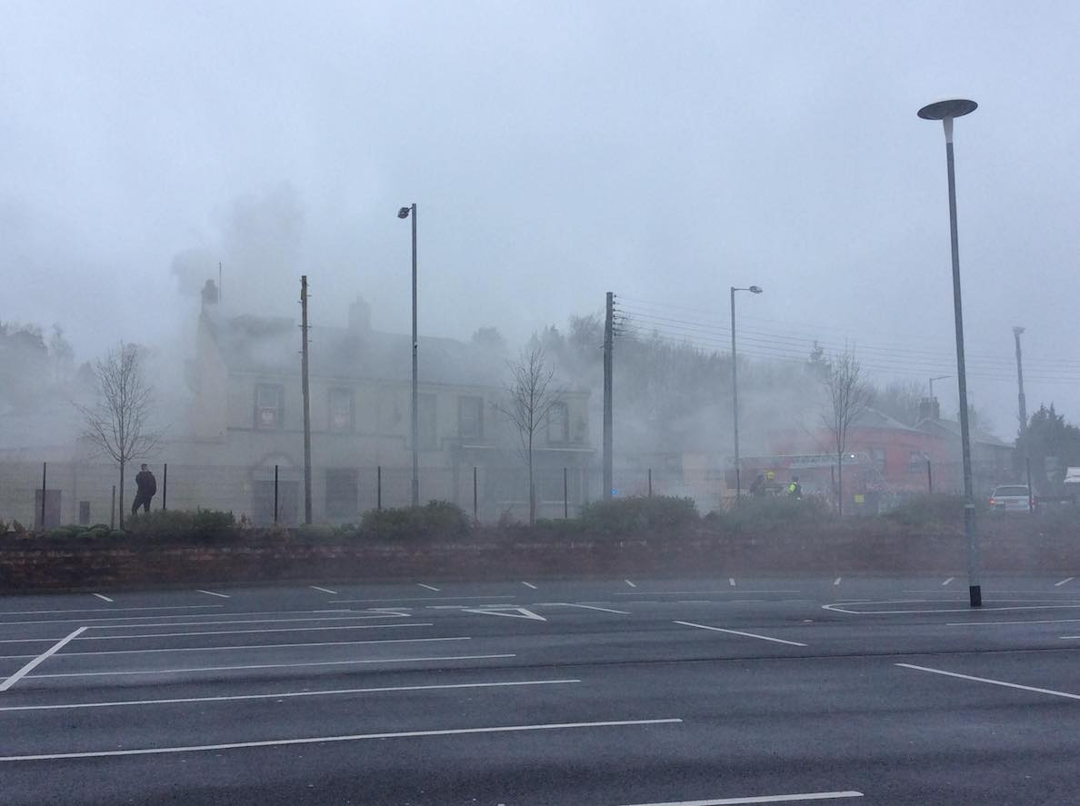 Armagh fire 1