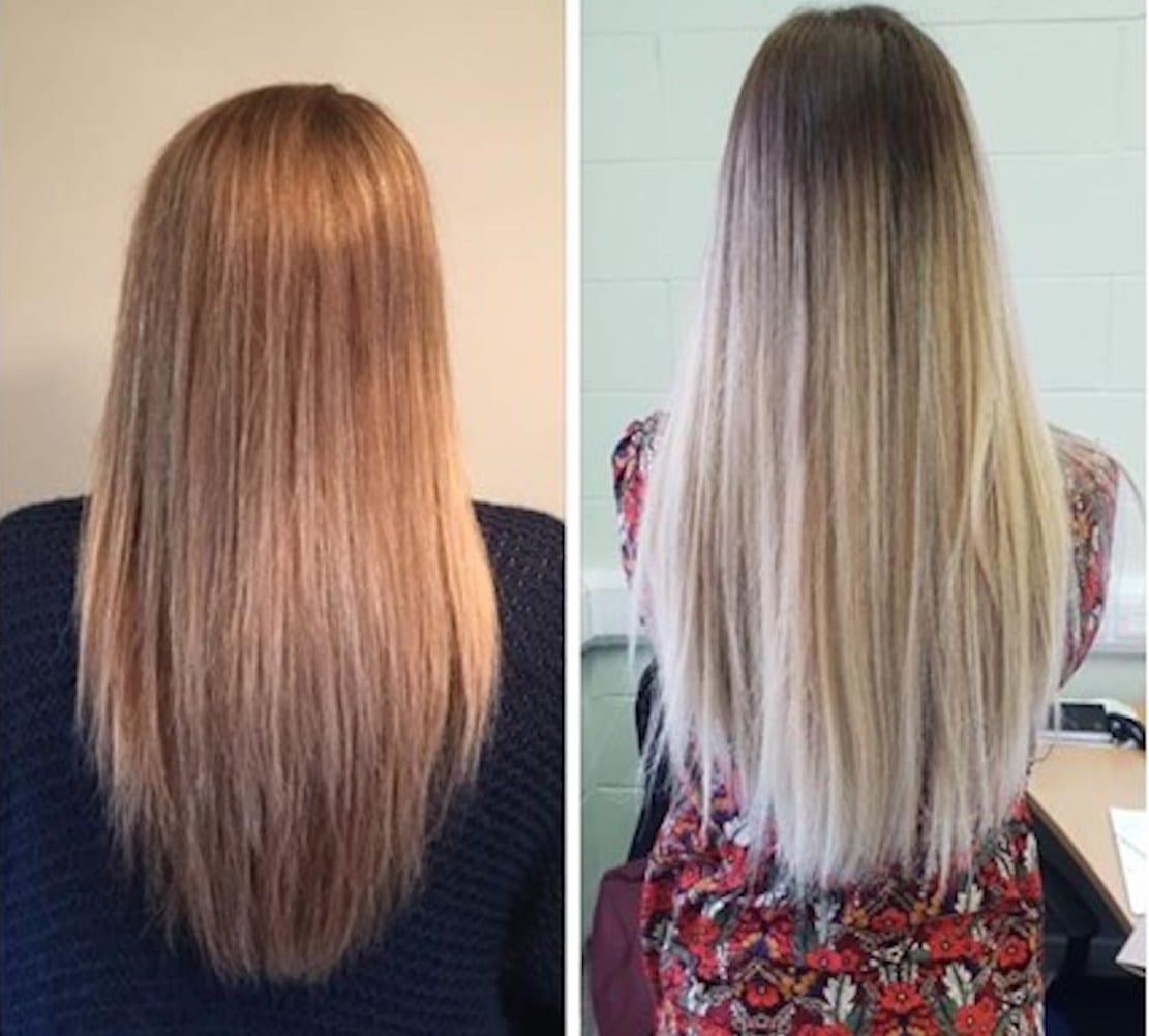 JustGiving Armagh hair cut