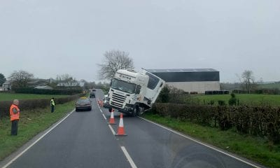 Lorry crash Keady