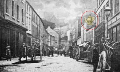 Scotch Street Armagh Golden Teapot
