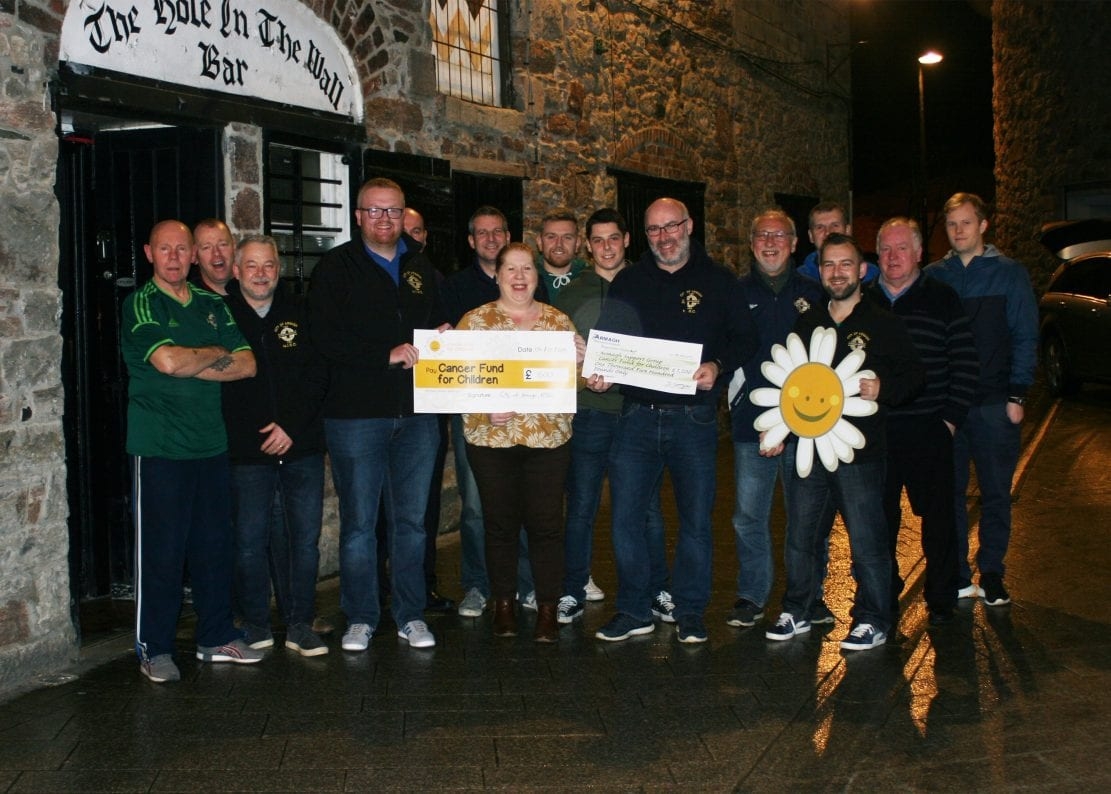 hole in wall bar Armagh Northern Ireland Supporters' Club