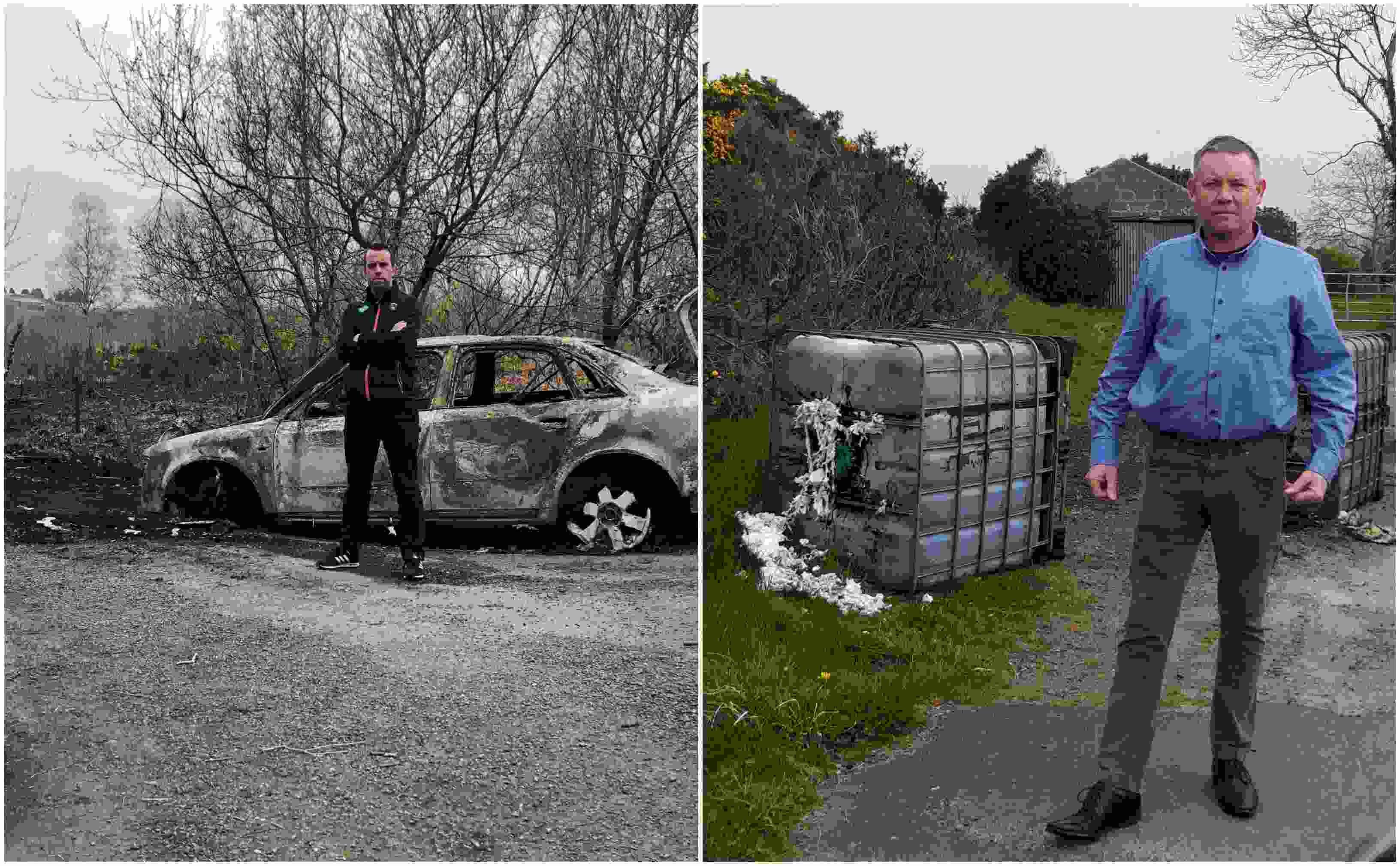 Car burnt south Armagh