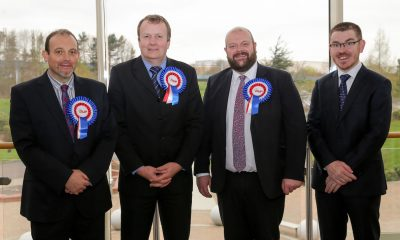 DUP election candidates