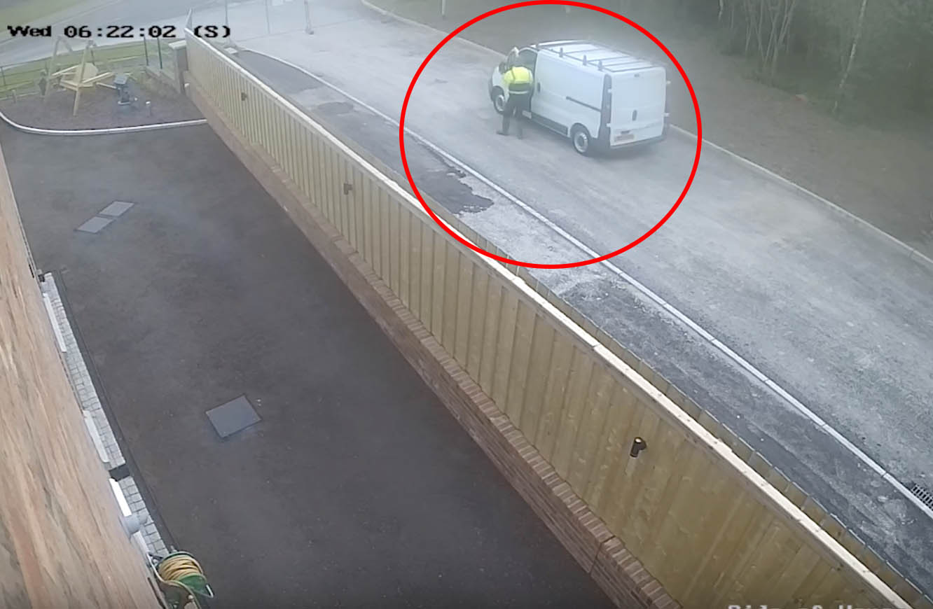 Armagh construction site theft