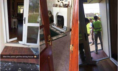 Carr home Granemore police raid