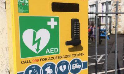Darkley missing defibrillator
