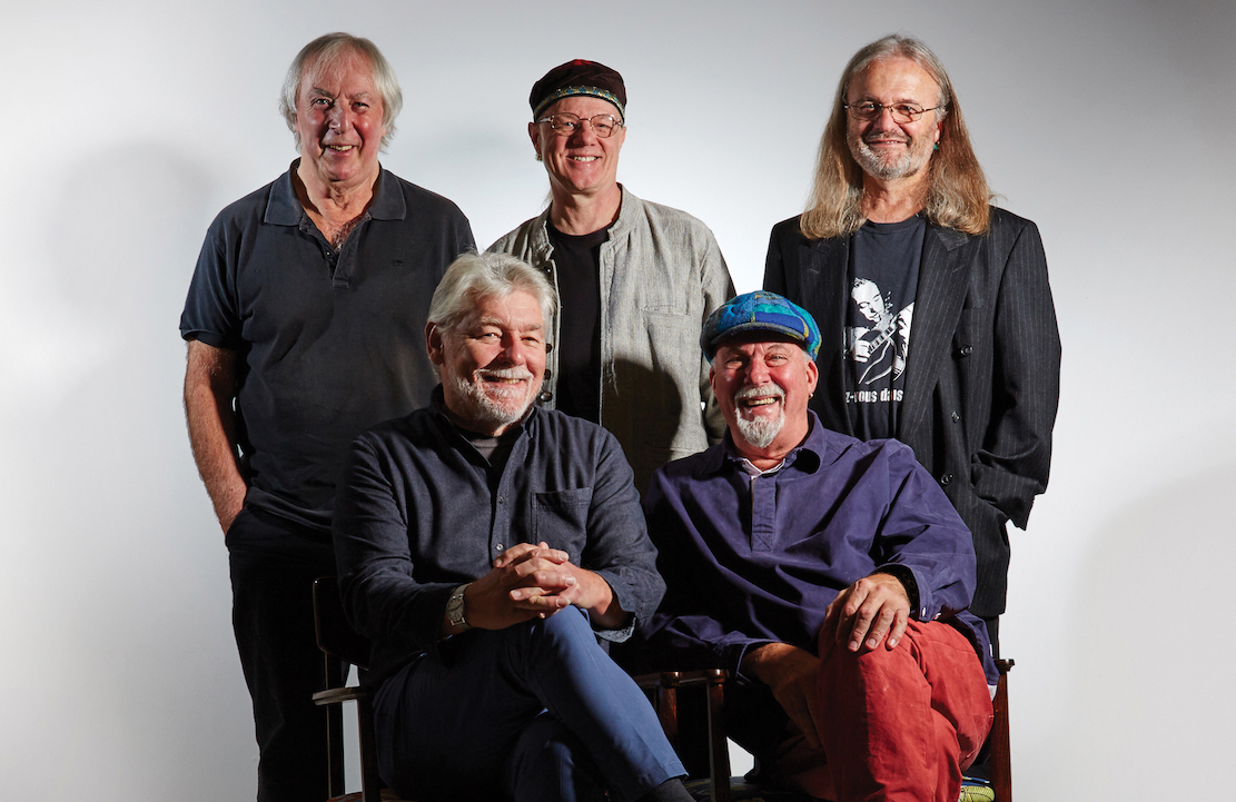 Fairport Convention photographed in November 2016. The band will celebrate its fiftieth anniversary on 27 May 2017.