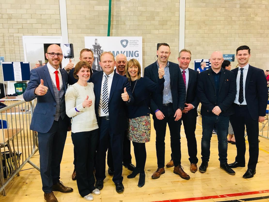 Gareth Wilson elected
