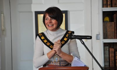Outgoing Armagh, Banbridge and Craigavon Lord Mayor councillor Julie Flaherty