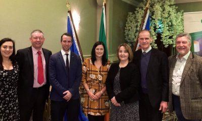 Oonagh Magennis with Sinn Fein candidates