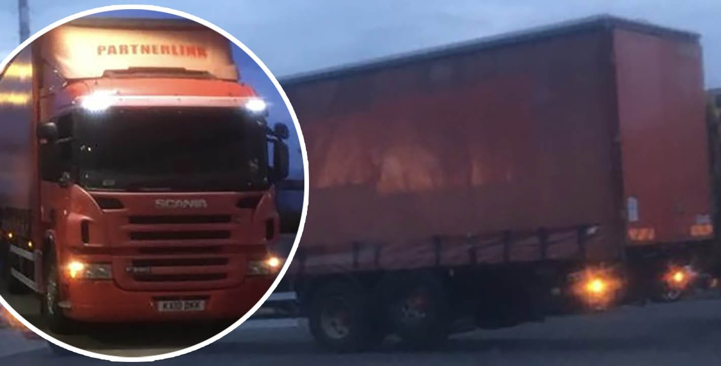 Stolen lorry Armagh