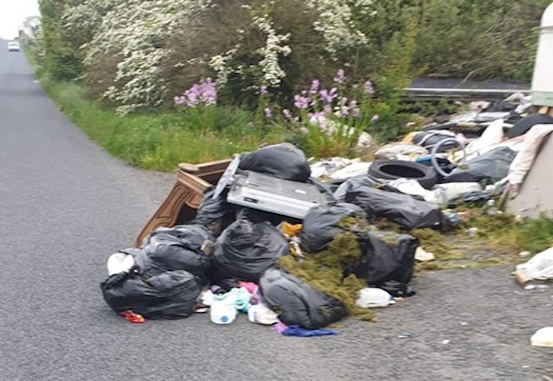 Crossmaglen Blaney Road dumping