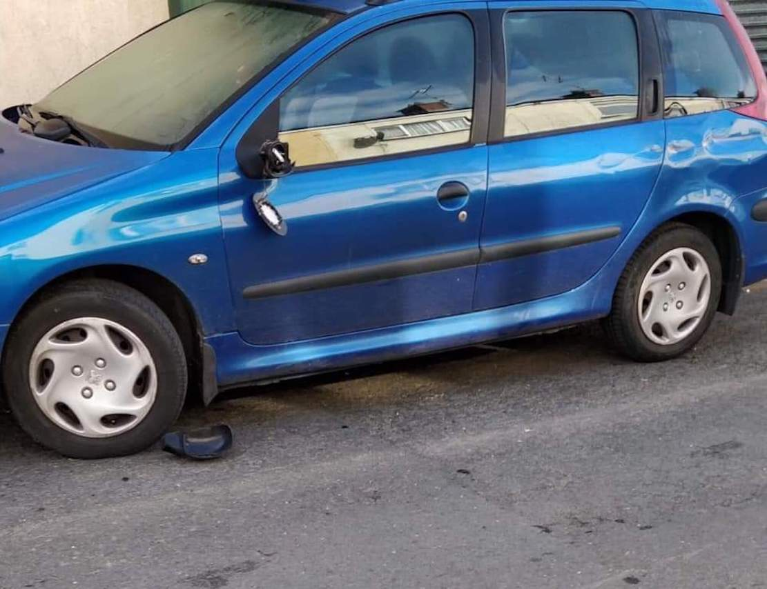 Car damaged in hit and run incident in Darkley village