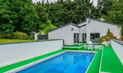 Donnydeade property with swimming pool and landscaped gardens on Old Moy Road Dungannon